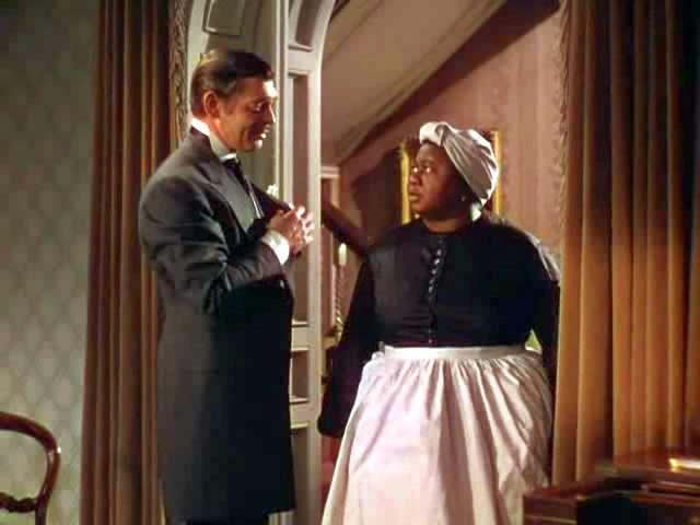 Image result for rhett butler and mammy