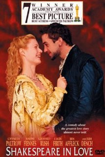Shakespeare in Love - 1998 cover