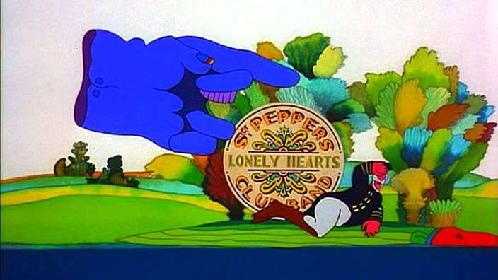 Yellow Submarine 1 movie - Once upon a time an unearthly ... | 704 x 396 jpeg 33kB