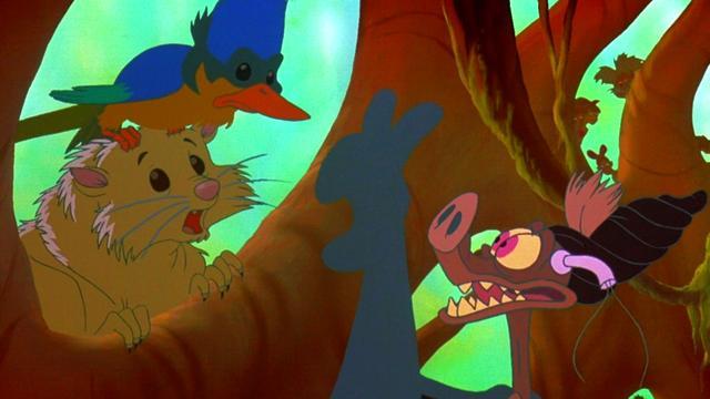 Batty Rap Ferngully The Last Rainforest