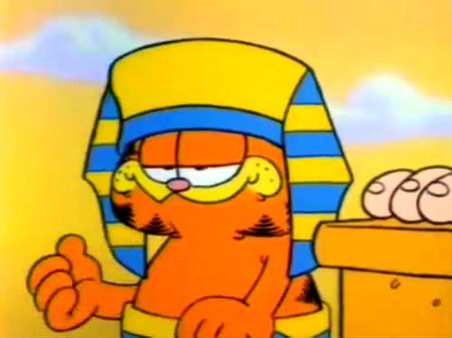 Garfield His 9 Lives Life No 2 King Cat