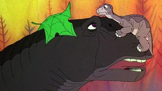 The Land Before Time 1988 part 2 Three horns never play with