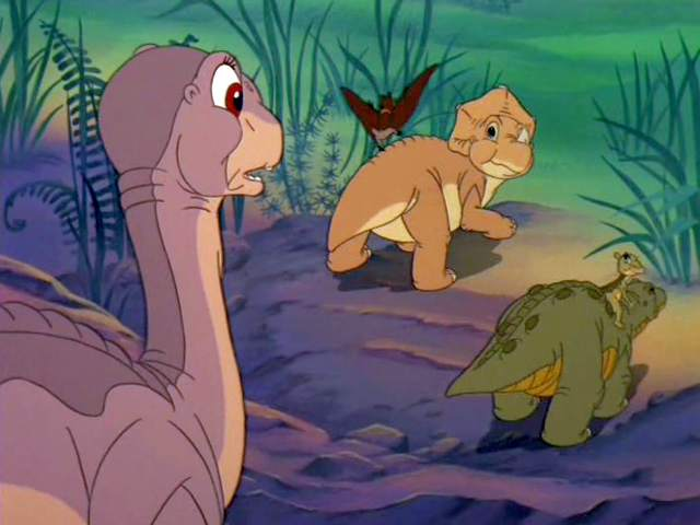 The Land Before Time II part 2 good little eggs