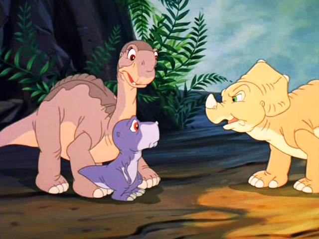 The Land Before Time II part 6 different than us