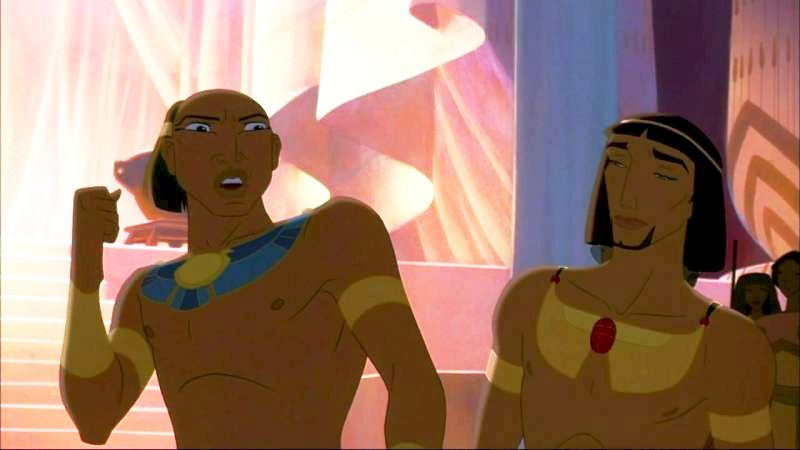 You Will Show The Proper Respect For A Prince Of Egypt.