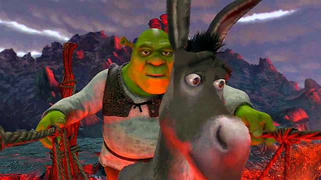 Shrek 2001 Part 4 Looking For The Princess Find A Girl Dragon
