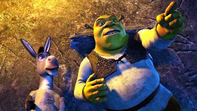 Shrek - Moon scene - YouTube