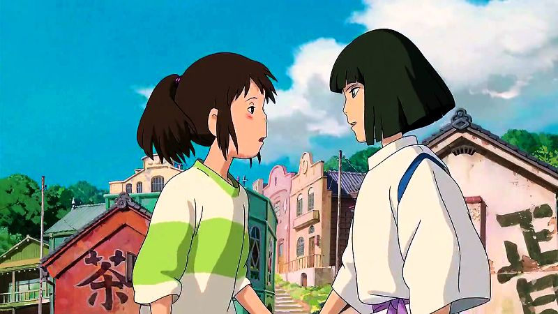 in spirited away do haku and chihiro meet again