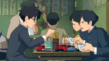 Always The Same Lunch Video Quotes From The Wind Rises