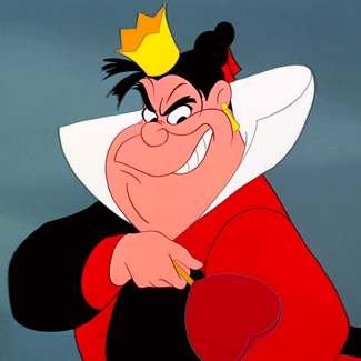 queen of hearts disney character