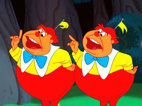 Tweedle Dee and Tweedle Dum | Disney character