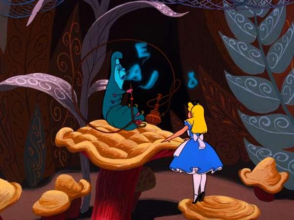 Alice in Wonderland so...