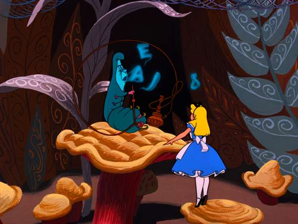 Alice in Wonderland songs videos - The Caterpillar (AEIOU ...