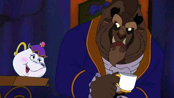Beauty and the Beast: The Enchanted Christmas   Disney movie