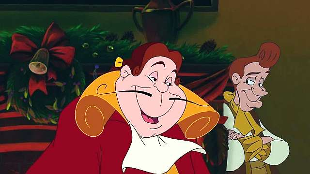 beauty and the beast the enchanted christmas disney movie