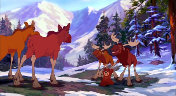 Brother Bear 2 Video Quotes Little Kid Animal Friends Disney Videos