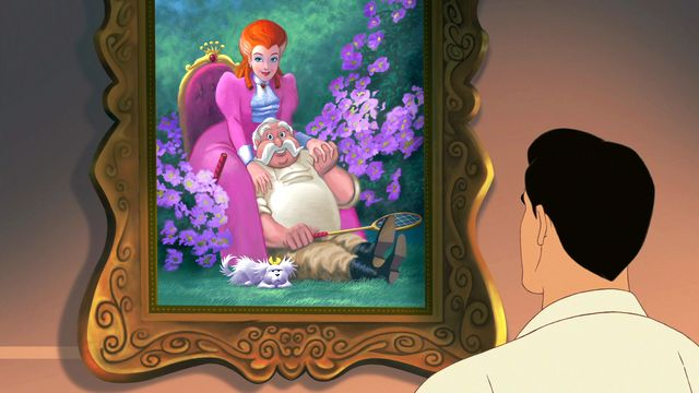 Cinderella III: A Twist in Time part 3 girl who fits the slipper