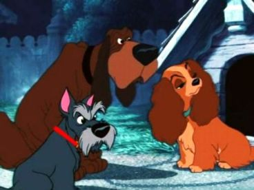 Lady and the Tramp 1955 Disney movie