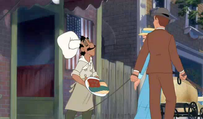 Lady and the Tramp II: Scamp's Adventure (2001)