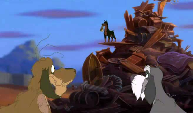 Lady And The Tramp Ii Video Quotes Buster Rules The Junkyard Dogs Disney Videos