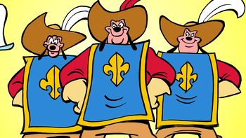 mickey donald goofy the three musketeers movie online