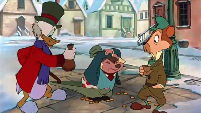 Christmas Carol Scrooge Mcduck.Mickey S Christmas Carol Part 3 The Spirits Of Present And