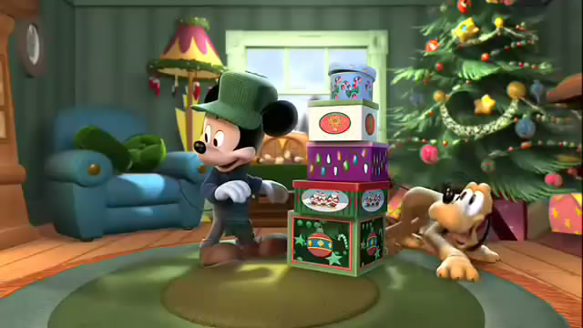 mickey mouse hey pluto guess what - Mickeys Twice Upon A Christmas
