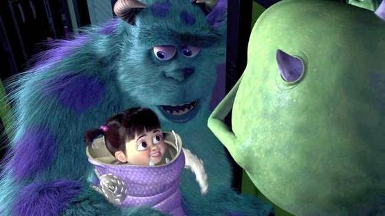 Monsters Inc part 7 make her laugh