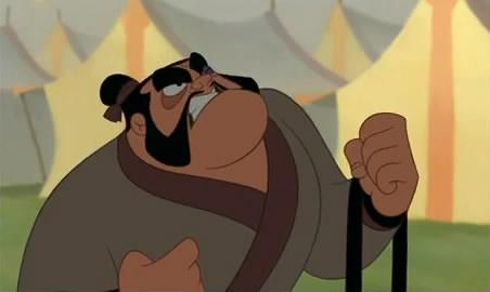 Mulan Characters Disney