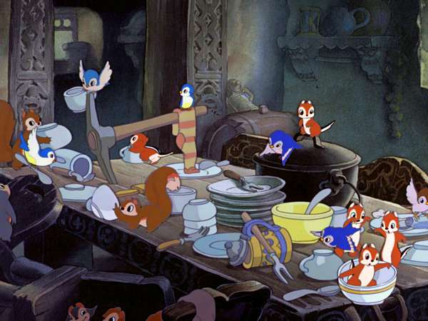 Snow White and the Seven Dwarfs songs videos - Whistle While