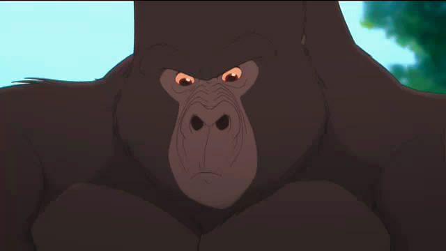 Tarzan ii 2005 disney movie - Tarzan gorille ...