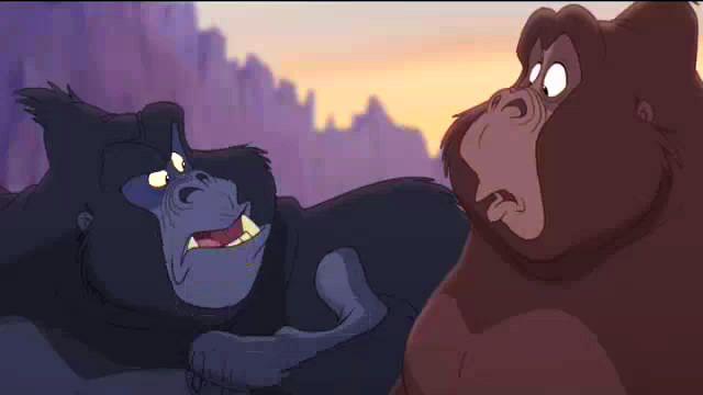 Tarzan ii video quotes gorillas can 39 t fly - Tarzan gorille ...