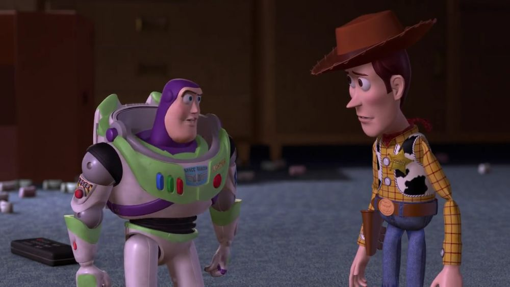 Toy Story 2 - 7 Woody Choose To Make A Child Happy