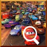 Disney's Cars Interactive Movie Poster