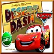Click here to play Cars Lightning McQueen's Desert Dash