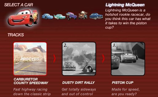 Cars Radiator Springs Racing Demo Online Game