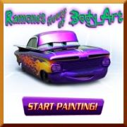 Click here to play Cars Ramone's Painting