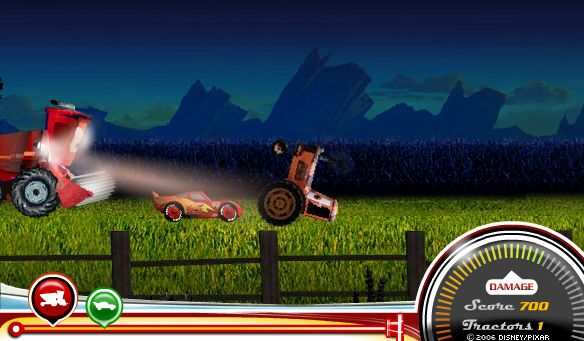Cars Tractor Tipping Online Game