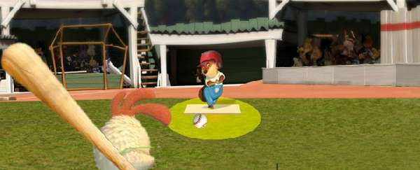 Picture from Batting Practice online game