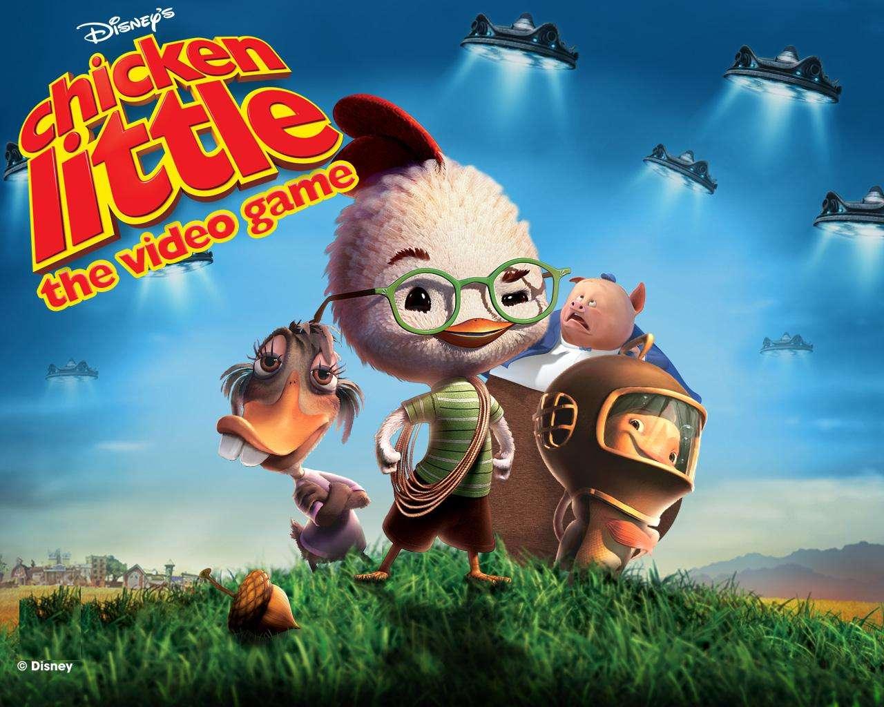 Chicken Little Galactic Traveler online Disney game