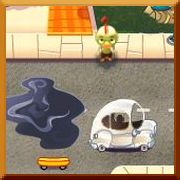 Click here to play Chicken Little Missed the Bus Game