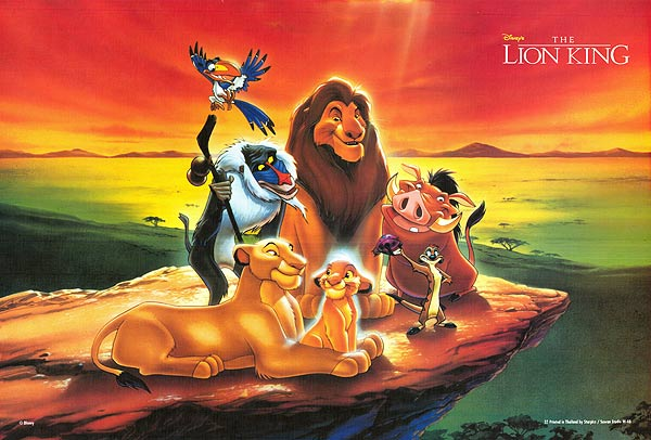 Official poster of Disney The Lion King