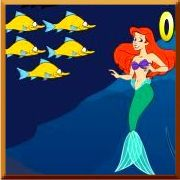 Click here to play Ariel`s School of Fish