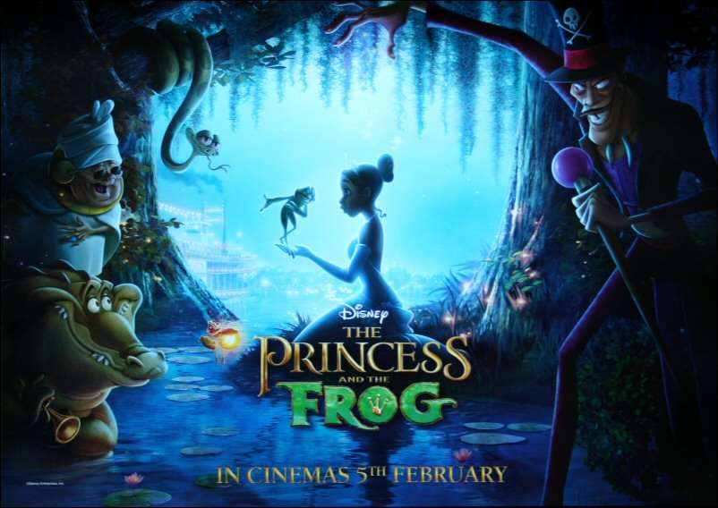 Official poster of The Princess and the Frog