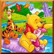 Winnie the Pooh Adventure Jigsaw Puzzles