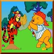 Click here to play Winnie The Pooh Home Run Derby