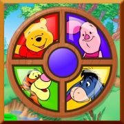 Click here to play Winnie the Pooh Piglet's Round-A-Bout