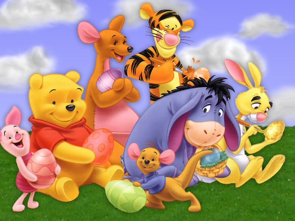 Winnie the Pooh Piglets RoundABout Online Game