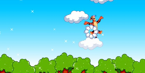 Picture in high resolution from Tigger Jump Game