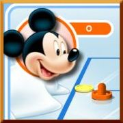 Play Mickey Mouse Air Hockey game